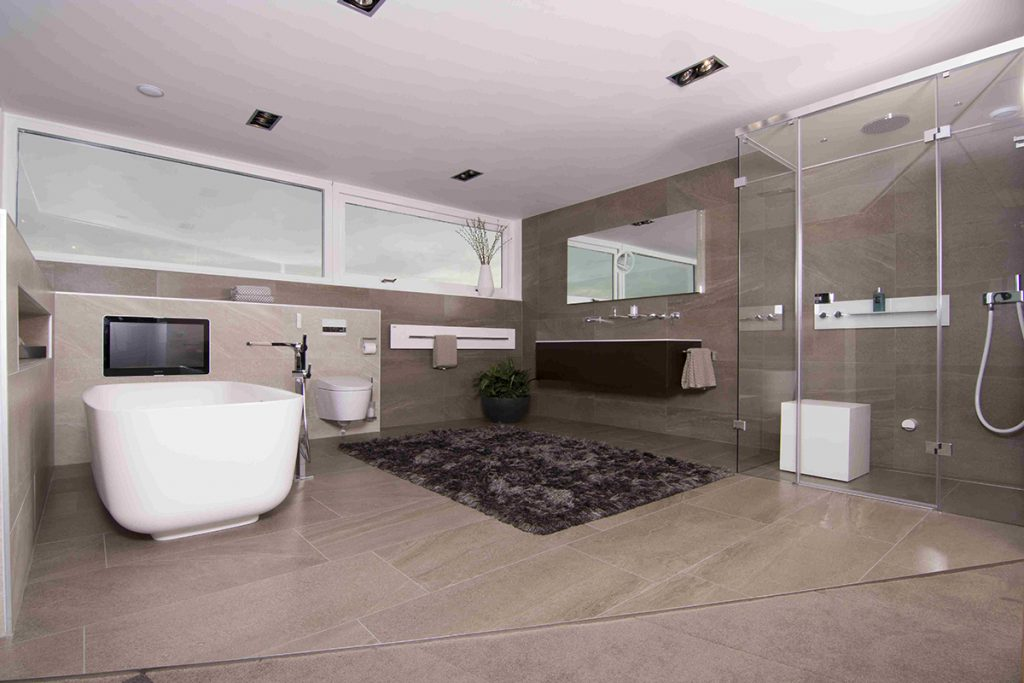 Badkamers bakker tegels badkamers for Fotos wc hangen tegel