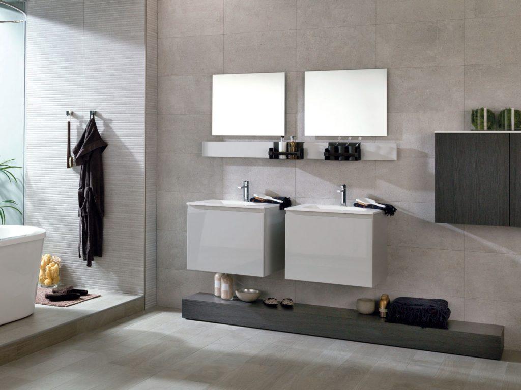 Wandtegels bakker tegels badkamers - Porcelanosa banos outlet ...