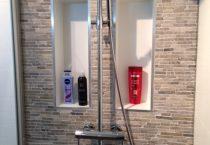 Badkamer tegels & douche
