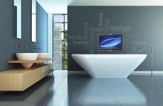 Badkamer tv