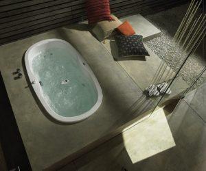 Whirlpool badkamer