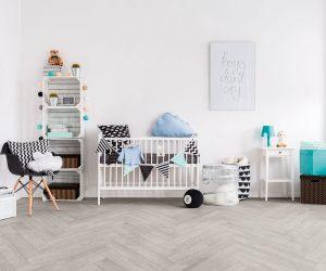 Kinderkamer met keramisch parket