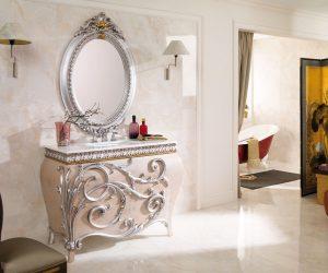 Badkamer muur en vloer inspiratie