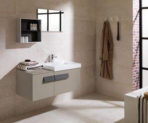 Matte badkamer tegels