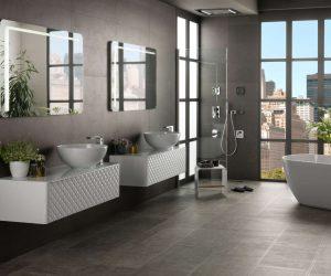 Badkamer vloertegels