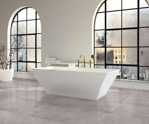 Keramische tegels in badkamer