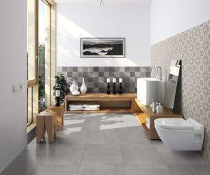 Wand en vloertegel voorbeeld