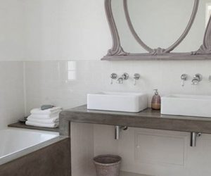 Badkamervloer tegels
