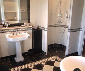 Klassieke badkamervloer