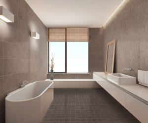 Kleine tegeltjes in badkamer