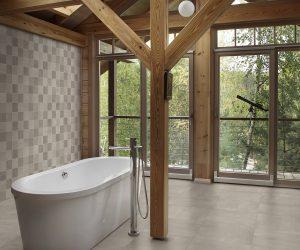 Voorbeeld badkamervloer